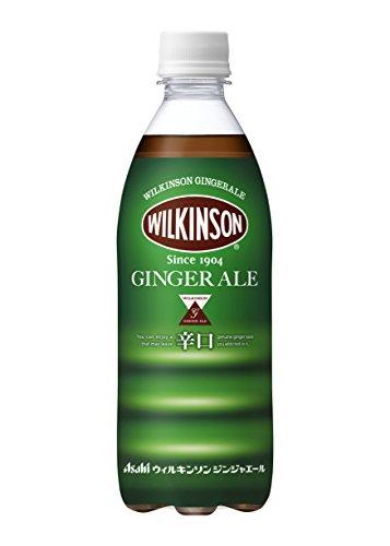 アサヒ飲料 ウィルキンソン ジンジャエール 強炭酸 500ml×24本