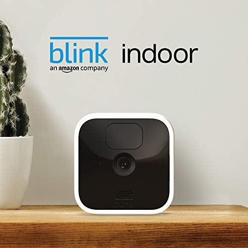 41Q59UONT4L._SL500_ [Bon plan] Blink Indoor, Caméra de surveillance HD sans fil avec deux ans d'autonomie, détection des mouvements et audio bidir...