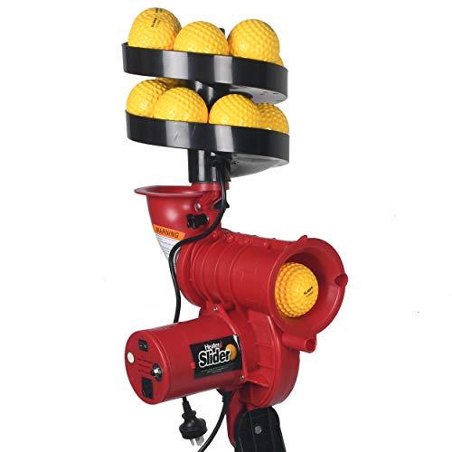 Sareen Sports SS Mechanical Heater Slider Auto Ball Feeder with Speed Up To 97 KPH Cricket Bowling Machine