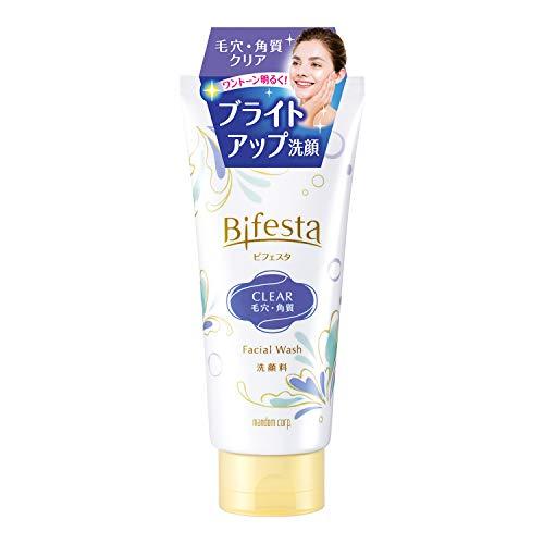 ビフェスタ(Bifesta)洗顔 クリア 120g 毛穴・角質クリアタイプの洗顔料
