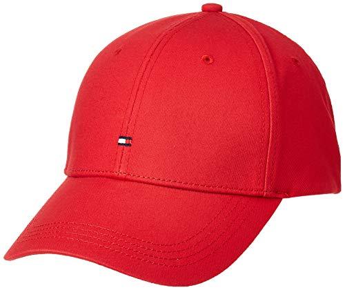Tommy Hilfiger Classic BB cap Berretto, Rosso (Apple Red 611), Unica (Taglia Produttore:OS) Uomo