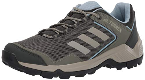 adidas outdoor Women's Terrex EASTRAIL W Hiking Boot, Legend Earth/Feather Grey/ash Grey, 7.5 M US