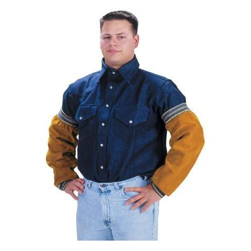 """Tillman 5218E Heavyweight 18"""" Sleeves Cowhide Side Split Leather"""