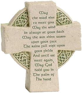 Roman Petite Standing Cross Celtic Irish Blessing