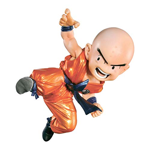Action Figure Dragon Ball Scultures Kurilin Banpresto Dragon Ball Scultures Kurilin Multicores