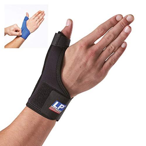 LP Support 763 Daumenorthese - Daumen-Bandage aus der Basic Serie - Daumenstütze - Handbandage, Größe:M, Farbe:schwarz