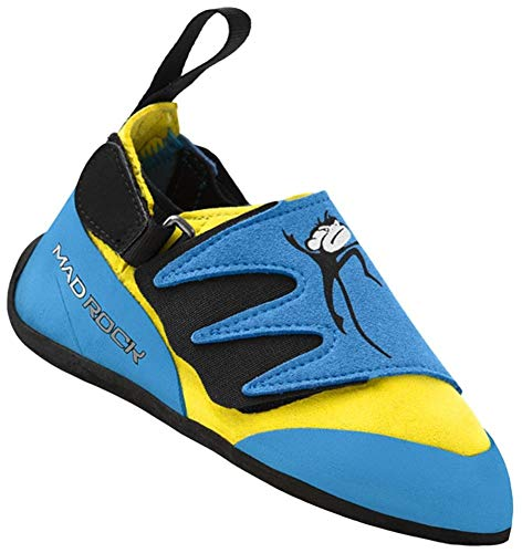 Mad Rock Mad Monkey 2.0 Climbing Shoe - Kid's Baby Blue/Yellow 3