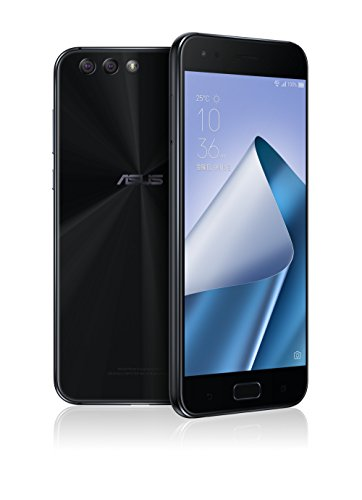 ASUS ZenFone4 SIMフリー スマートフォン (ブラック/5.5インチ)【日本正規代理店品】(オクタコアCPU/6GB/64...