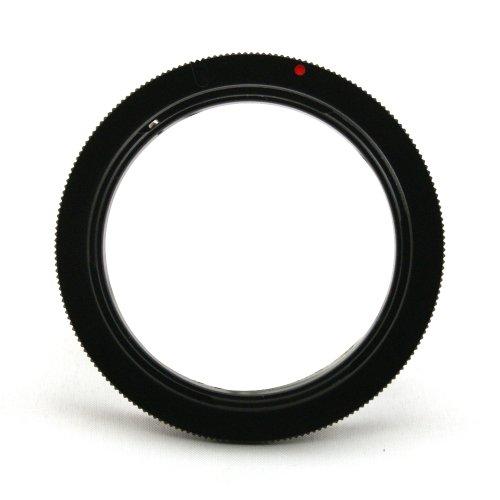 マクロ撮影 リバースアダプター Canon キヤノン EOS EFマウント用 58mm径のレンズ対応