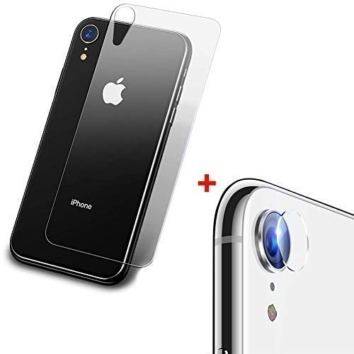 KZIOACSH 9H Copertura Back Pellicola + Fotocamera Pellicola Protettiva Compatibile per iPhone XR