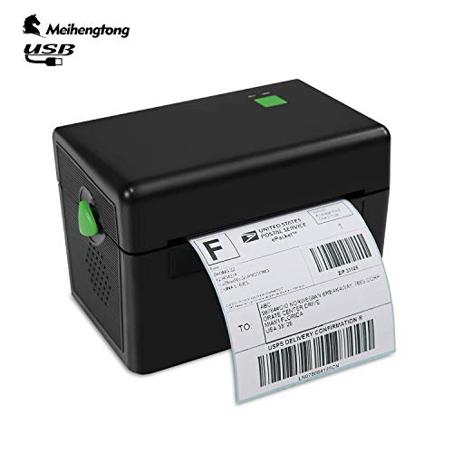 Meihengtong Label Printer, 150mm/s High Speed Thermal Printer - Compatible with FedEx, Amazon, Ebay, Etsy, Shopify - Barcode Printer, 4x6 Printer, Support Windows&Mac