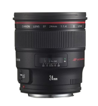 Canon EF 24mm f/1.4L II USM Wide Angle Lens - Fixed - 2750B002