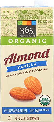 365 Everyday Value, Organic Almond Milk, Vanilla Flavor, 32 fl oz