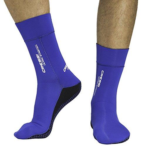 Cressi Herren Tauchsocken Ultra Stretch, blau, S - 36/39, XDF200120