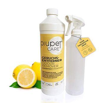 PiuPet® Désodorisant concentré pour Chats et Chiens (1L)