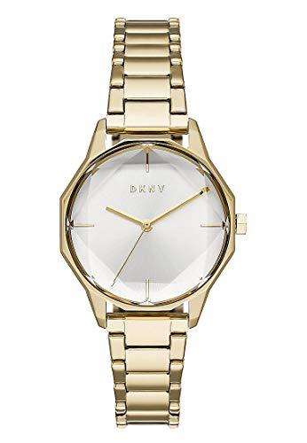 DKNY Damen-Uhren Analog Quarz One Size Edelstahl 87675645
