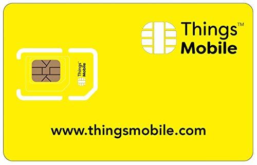 Tarjeta SIM Things Mobile de Prepago para IOT y M2M con Cobe