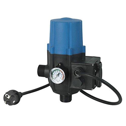 Ribiland 10303 - Régulateur Électronique - 2200 Watts - 220 / 240 Volts - Pour Pompe à Eau de Surface, Bleu