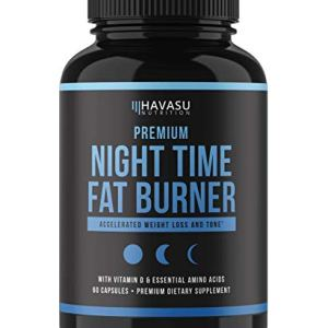 Havasu Nutrition Night Time Fat Burner | Metabolism Booster, Appetite Suppressant & Sleep Supplement to Support Weight… 2 - My Weight Loss Today