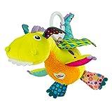 TOMY Lamaze - Peluche Bébé Flip Le Dragon L27565, Peluche d'Activités à Clip...