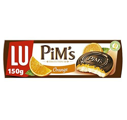Lu Pim's Galletas Rellenas de Naranja y Cubiertas de Chocola