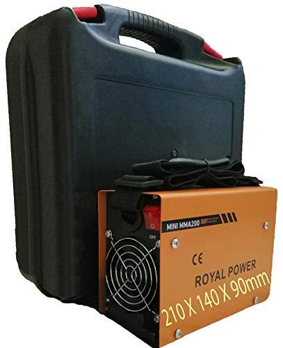 Poste à Souder, Machine de soudure, soudeuse à l'arc portable, soudeuse à inverseur IGBT Inverter MINI MMA-200