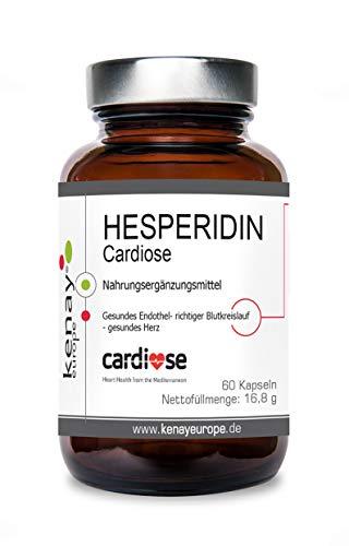 HESPERIDIN   Cardiose  Rutosid   250mg- 60 Kapseln   KENAY EUROPE