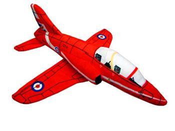 RAF Red Arrows Plane Soft Toy