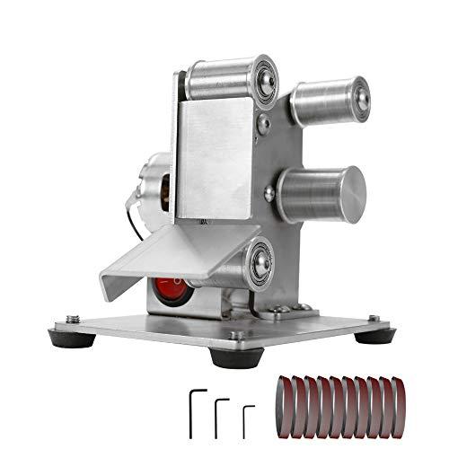 KKmoon Elektro Bandschleifer DIY Tellerschleifmaschine Cutter Edges Sharpener