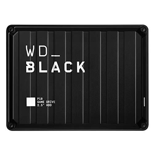 WD_Black P10 5To - Disque dur portable externe gaming pour un accès mobile à votre bibliothèque...