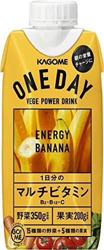 カゴメ ONEDAY Energy Banana 330ml ×12本