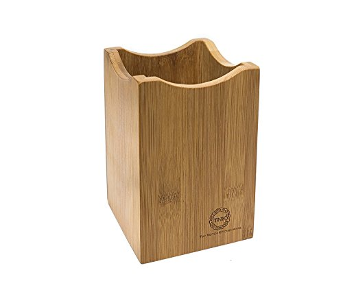 Bamboo Utensil Holder or Caddy for Kitchen Tools. Perfect Organizer for Stainless Steel, Ceramic, or Bamboo...