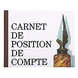 Exacompta 13502E Piqûre position de Compte 16 x 19,5 cm 40 Pages