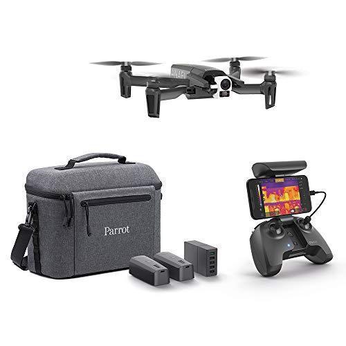 Parrot Drone termico 4K Anafi Thermal 2 videocamere di alta precisione, Termocamera da -10 a 400 C, videocamera 4K HDR, Il drone termico ultracompatto per tutti i professionisti