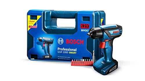 Parafusadeira/furadeira A Bateria com Maleta E 11 Acessórios, Bosch, Azul