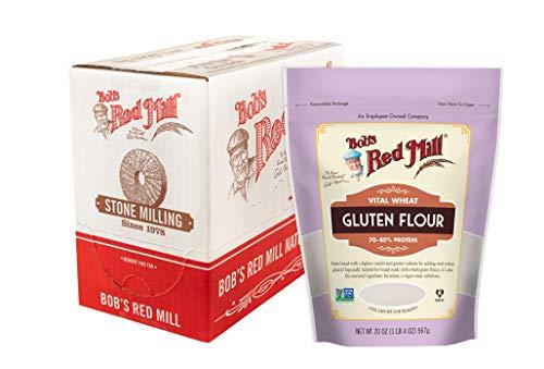 Bob's Red Mill Vital Wheat Gluten Flour, 20 Oz (Pack Of 4)