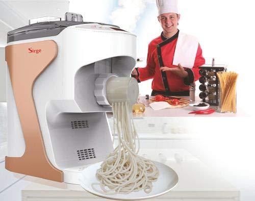 Sirge PASTALELLA Macchina per pasta fresca semiautomatica con ventilazione 14 Trafile + Estrusione...