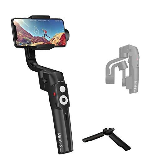MOZA MINI-S Stabilizzatore Gimbal palmarea a 3 assi/Stabilizzatore Smartphone Pieghevole per Registrazione di Movimento