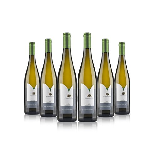 Gewrztraminer vino bianco biologico 6 bottiglie | Cantina Toblino