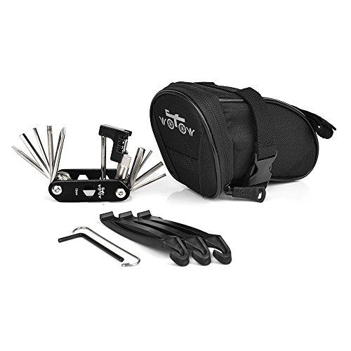 WOTOW Bike Repair Tool Kits Saddle Bag...