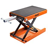 Motorcycle Lift Scissor Jack Center Stand, 4-13 Inch Height Range Motorcycle Jack and Bike Stand, 1100lb Capacity Bike Repair Stand for Motorcycle Maintenance up to 1/2 Ton