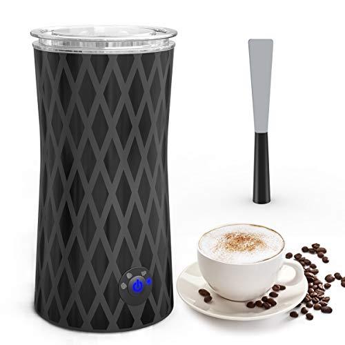 Espumador/Batidor de leche, Morpilot Espumador y Calentador de leche Automática, Espumador de Leche Eléctrico,...