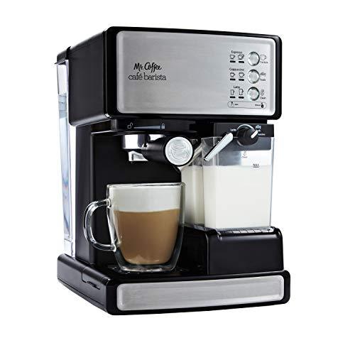Mr. Coffee Espresso and Cappuccino Maker (Café Barista , Silver)