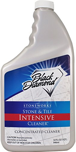Stone & Tile Intensive Cleaner: Concentrated Deep Cleaner, Marble, Limestone, Travertine, Granite, Slate, Ceramic & Porcelain Tile. (1, Quart)