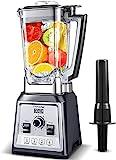 AMZCHEF Blender 2000W, Blender Smoothie, Mixeur Multifonction, Mixeur...