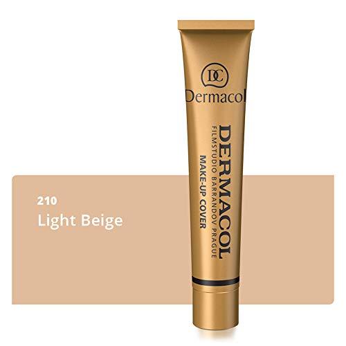 Dermacol Covering Make-up Cover voor gezicht en hals | Waterbestendige foundation met SPF 30 voor een onberispelijke teint