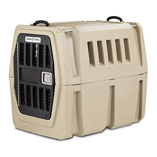 Gunner Kennels G1 Large Dog Crate | Escape Proof, Heavy Duty Durable Dog Box | Dog Kennel Fits Large Breed Dogs | Appropriate for Dogs with Anxiety, Phobias