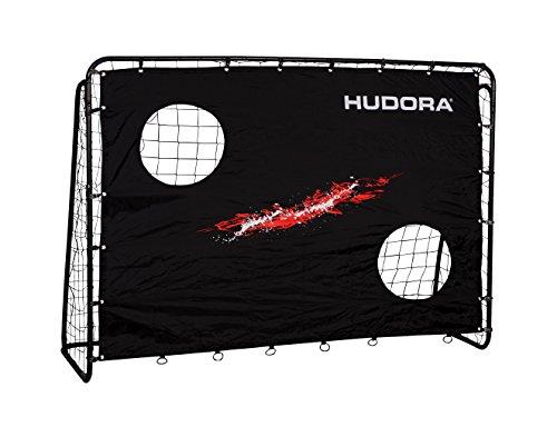HUDORA Fußball-Tor Trainer mit Torwand, Fußball-Tor Garten - 76923