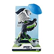 Officially licensed Height: Approximately 10 in. 3-D ball accent with on/off light bulb functionality Includes CR2032 3.0V Button Cell Batterie Thematic backdrop with bold team logo displa
