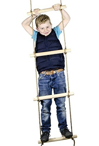 Squirrel Products 6 ft. Climbing Rope Ladder for...